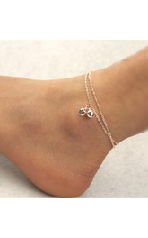 Simple And Stylish Double Bells Anklet