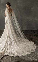 Ethereal Tulle Cathedral Wedding Veil